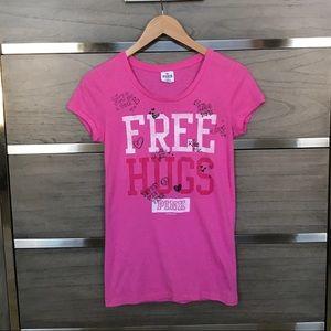 PINK Free Hugs Tee